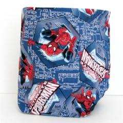 Spiderman Fabric Basket - Medium FREE SHIPPING