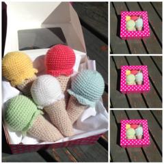 Mini Ice-cream  Set - Play food