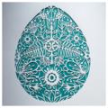 'Floral Easter Egg' - Paper Cut Art