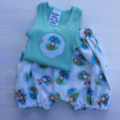 Boys Easter  outfit size 000 singlet and harem/bloomers