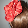 Tangelo Fling..SALE spring summer Races Wedding Event headpiece fascinator