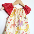 Vintage Play Flutter Sleeve Peasant Dress, 100% Cotton, Size 2/3 Toddler