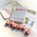 HEARTS Wooden Dice Game - Heartfelt Fundraiser
