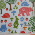 Woodland Flannel Baby Blanket