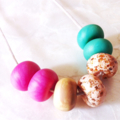 Sweet Tooth - Clay Pod Necklace