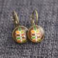 Danish Design~ Lever Back Earrings