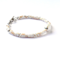 Pearl, Shell and Sterling Silver Bracelet