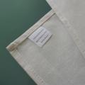 Australian wombat screen printed linen tea towel