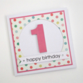 Happy Birthday Age Card