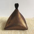 Pyramid Doorstop 'Copper'  'Bronze' 'Metallic' Foil  door stop