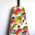 Ironing Board Cover - Japanese dolls girls in garden