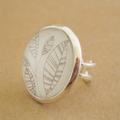 """Leaves"" - Large Adjustable Ring"