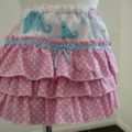 """Size 6 -12 Months """"Cute Elephants"""" Dress and Frilled Pants"""