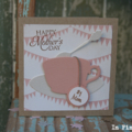 Happy Mother's Day Card ~ Card for Mum ~ Tea Cup card for Mum