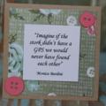 Mini Card  for Mum ~ Mum's Birthday Ready to Post