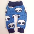 Boys Blue Pandas jersey harems. Super soft easy to wear pants for your littlie
