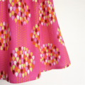 Pink Raindrop Patterned Flutter Sleeve Dress, 100% Cotton, Size 1 OR 2/3 Toddler