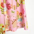 Owl & Sweets Patterned Flutter Sleeve Dress, 100% Cotton, Size 2/3 Toddler