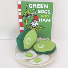 Green Eggs and Ham Dr Seuss Reading Aid Set