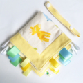 FREE POST * BABY JUNGLE ANIMALS * Security Blanket Taggie / Taggy Toy Comforter