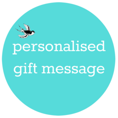 PRINT A MESSAGE INSIDE MY CARD, Personalised Message, Printed Message