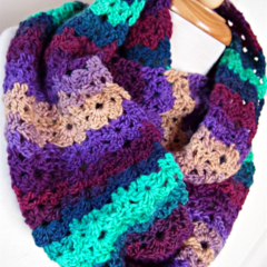 Crochet Infinity Scarf Snood