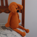 Dani Bear : crochet, safe, OOAK, washable, unisex, baby shower, by CuddleCorner