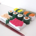 Japanese Felt Food Set, Sushi Play Food