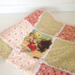 """Little Farm Girl"" Baby / Child's Quilt"