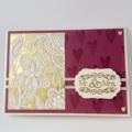 Wedding Card - 'Mr & Mrs'
