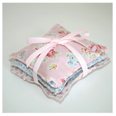 Scented Sachets - set of 3 bags - Lavender and Rose
