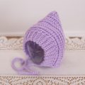 Swaddle Sack and Pixie Bonnet Set / Newborn Photography Prop / Lilac