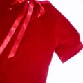 Red Velvet Delight Girl's Dress