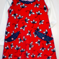 Red Cord Pinafore