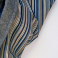 Striped Cord Hooded Vest for Boys