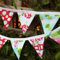 Tanya Whelan Bunting, flags or banner for child's bedroom, garden, birthday