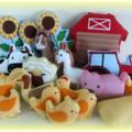 Farmyard Softie Play Set