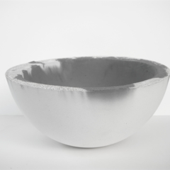 Lunar Concrete Key / Fruit Bowl - Two Tone - Urban Decor