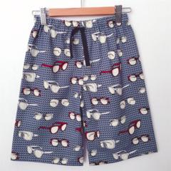 Size 5 - Shorts - Retro Sunnies - Navy - Red - Glasses - Boys