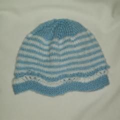 PURE WOOL BABIES HAT