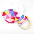 Baby Teether Bright Triangles