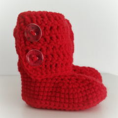 Red Little Boots