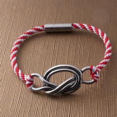 Knot on Your Life!  Kumihimo bracelet
