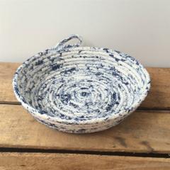 Rope Dish / Medium / Navy / Handmade, Homewares, Storage, Bowl, Vessel