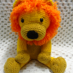 Lion Toy, Boy Gift, Toddler Boy Gift, Jungle Animal