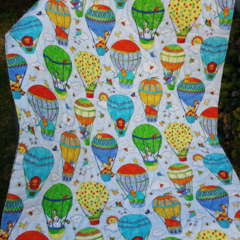 Baby quilt, bassinet, stroller, pram, tummy time, daycare - 