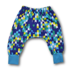 SIZE 0 Blue Fox Harem Knit Fleece Pants