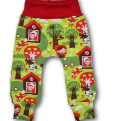 SIZE 0 Red Riding Hood Knit Pants - Free Post