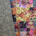 SUNLIGHT IN THE FOREST handmade quilt