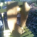 Wool Hand Knitted Scarf